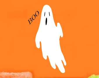 Halloween Ghost Decal HS4