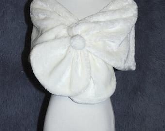 Fake fur cape coat new bride spring sleeved wedding dress handmade shawls