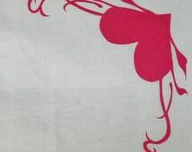 Corner Heart Quilt Applique Pattern Design