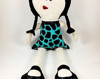 Ragdoll, Handmade doll, Plush Doll