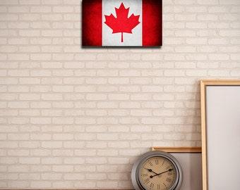 Original Canada Flag (Canvas)