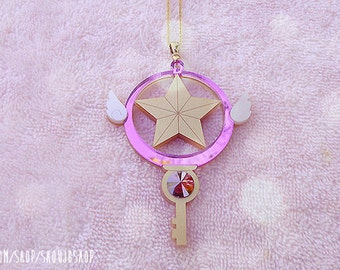 CARDCAPTOR SAKURA Clow Star Key Necklace (Pre-Order)