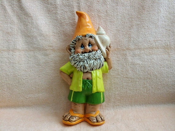 Hawaiian Garden Gnome This Gnome Is Ready For The Beach With