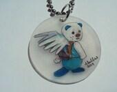 Oshawatt with Wings Key Chain