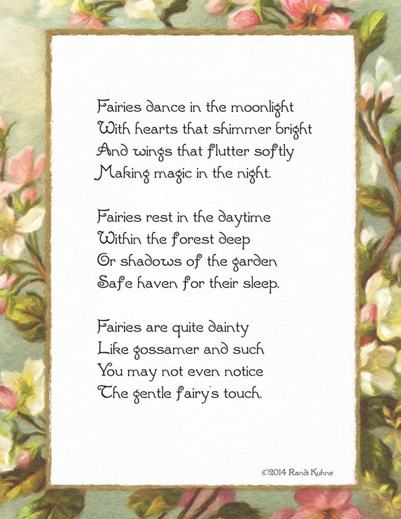 Fairies dance in the moonlight original fairy poem diy fairies dance in the moonlight original fairy poem diy printable instant download 8 12 x 11 85x11 thecheapjerseys Images