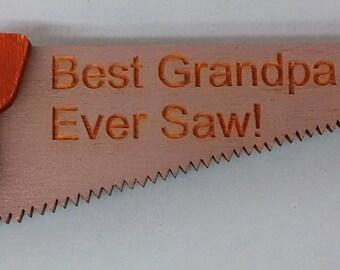 Best Grandpa I Ever Saw! Magnet