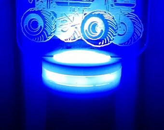 LED Night light, Monster Truck Night Light