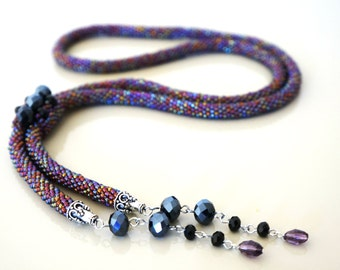 Lariat (necklace)  beads CL 004