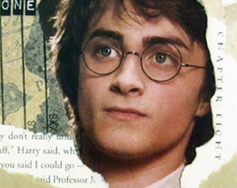 """Harry Potter Greeting Card """"The Chosen One"""""""