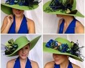 Emerald City Kentucky Derby, Tea, Fashion, Wedding, Polo, Horse Race, Fashion Hat