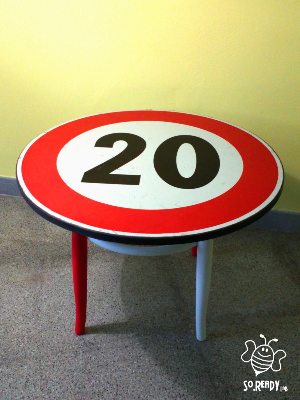 Tavolino caff segnale stradale segnali stradali per - Specchi stradali vendita ...