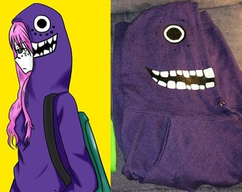 Matryoshka Vocaloid Hoodie - Purple (Luka/Kaito/Gakupo)