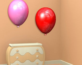 Wall decals balloons A149 - Stickers ballons A149