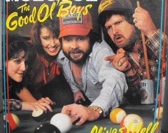 Vintage Vinyl - The Good Ol' Boys Alive & Well, Moe Bandy and Joe Stampley