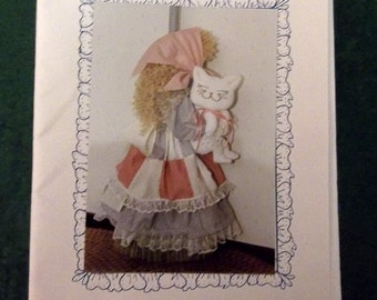 Sew Special -   My Kitty and Me Broom Cover Pattern