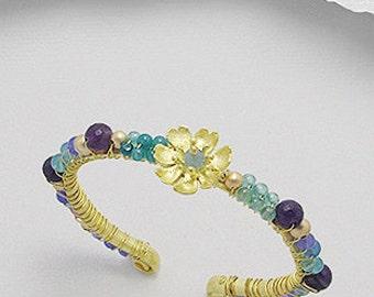 Jade Amethyst Bracelet