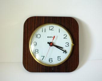 clock vintage, wall clock, clock formica