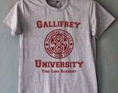 Gallifrey University Shirt Doctor Who DR Who Shirts T Shirt T-Shirt TShirt Tee Shirt Unisex - Size S M L XL XXL