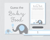Elephant Baby Shower Gues...