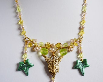 Fairy and Ivy necklace