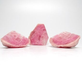 Rose Quartz Geode Shaped Soap Set