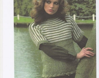 Knitting Pattern Ladies Crew Neck Jumper : Ladies Knitted Sleeveless Pullover Vest Womens Pullover