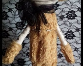 Asylum collectable art doll - Ruxpin Bundy from the forgotten dolls collection