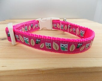 Owl Dog Collar