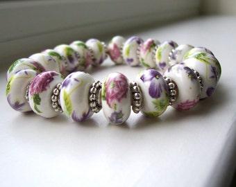 Floral Fancy Stretch Bracelet
