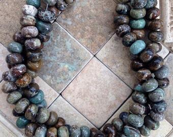 Rondelle snakesin jasper beads