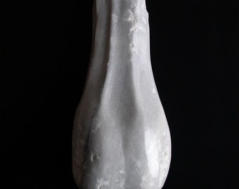 Sculpture, marble, model: Petting eggs/8, erotic, sculpture, white, decoration