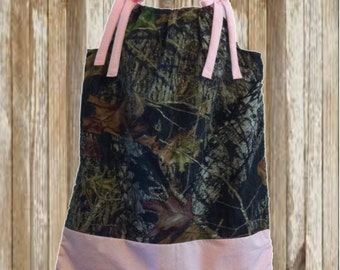 Light Pink Mossy Oak Dress