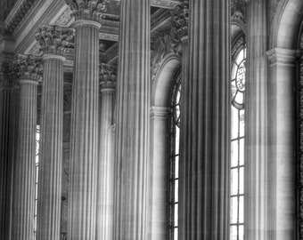 Paris Photography, Palace of Versailles, Versailles Chapel, French Architecture, Paris Print, French Wall Art