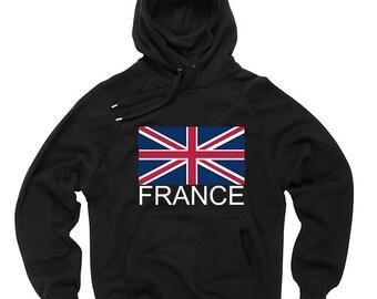 France England Hoodie England Flag Hoodie Hooded Sweatshirt Sweater