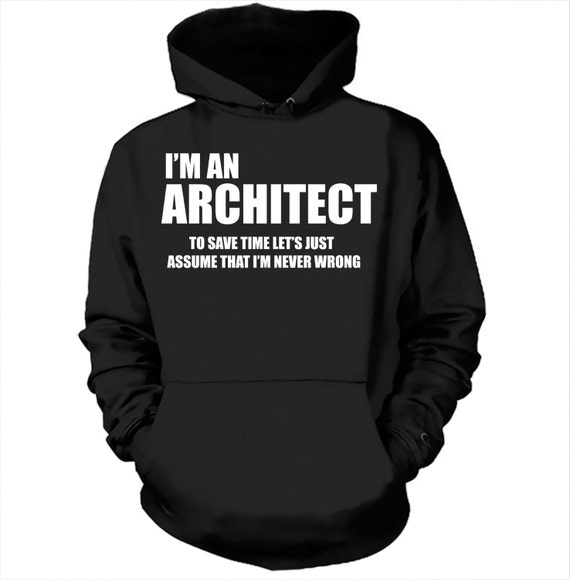 architekt hoodie sweater geschenk f r architekten sweatshirt. Black Bedroom Furniture Sets. Home Design Ideas