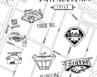 Custom And Hand Drawn Maps And Design By Zucchiniandco On Etsy