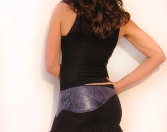 Black Mini Flirt Skirt