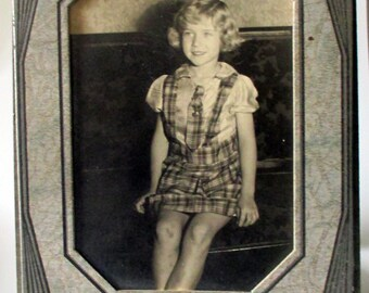 1930s Portrait of a Girl Cabinet Photo
