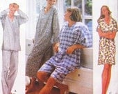 PLUS SIZE PAJAMAS Sewing Pattern - Easy Unisex Sleepwear Nightshirts