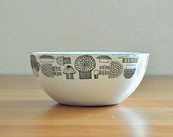 small kaj franck for finel mushroom bowl