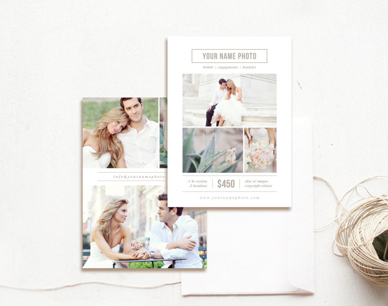 INSTANT DOWNLOAD Photography Flyer Design Mini Session – Photography Flyer