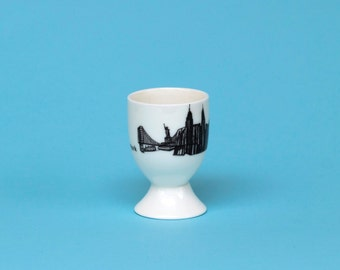New York Skyline Egg Cup