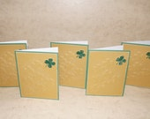 A Set of 5 Happy Saint Patricks Day cards