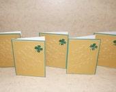 A Set of 5 Happy Saint Patricks Day cards