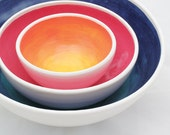 Made to Order-Ombre Nesting Bowl Set