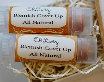 You Choose Blemish Coverup Makeup - Medium to Heavy Coverage - Great For Covering Acne, Rosacea, Pimples - All Natural Formula