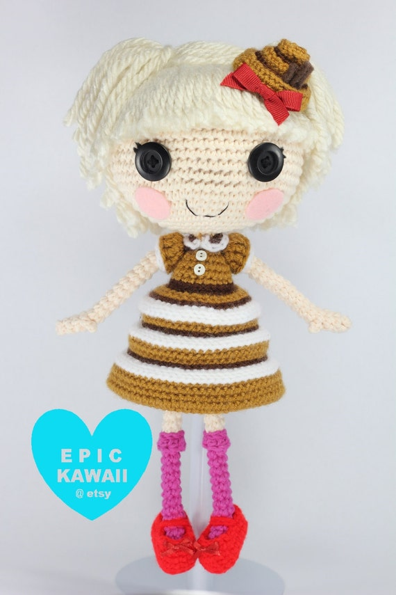 Amigurumi Askina Etsy : Items similar to PATTERN: Bun Crochet Amigurumi Doll on Etsy