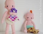 Amigurumi Baby Crochet Pattern - Instant Download