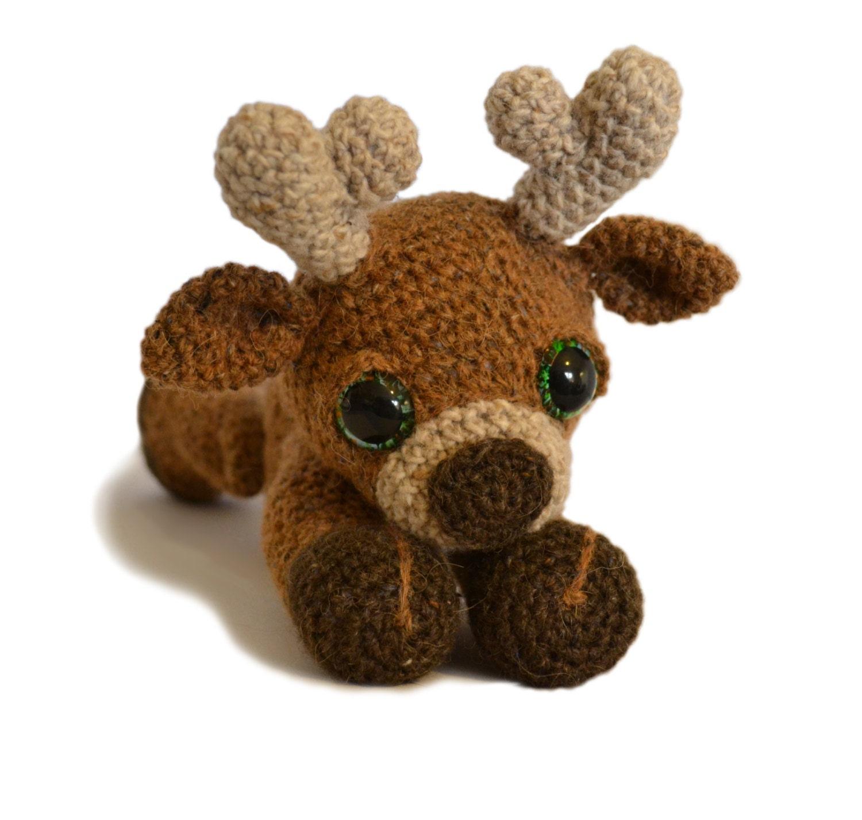 Amigurumi Crochet Difference : Reindeer Amigurumi Crochet Pattern PDF Instant Download