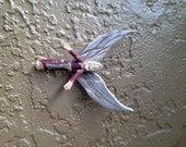 Handcarved Miniature Wooden Angel